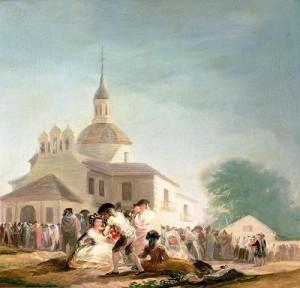 Ermita de San Isidro, Madrid, 1788