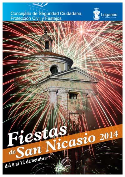Cartel Fiestas Leganés