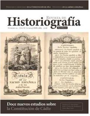 Cubierta de la Revista de Historiografía